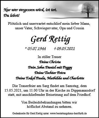 Profilbild von Gerd Rettig